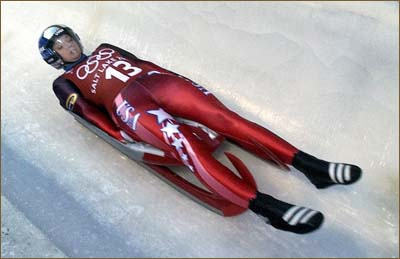 Olympic skeleton sled