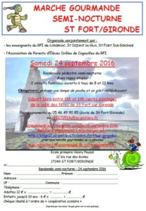 bulletin d'inscription randonnée 2016