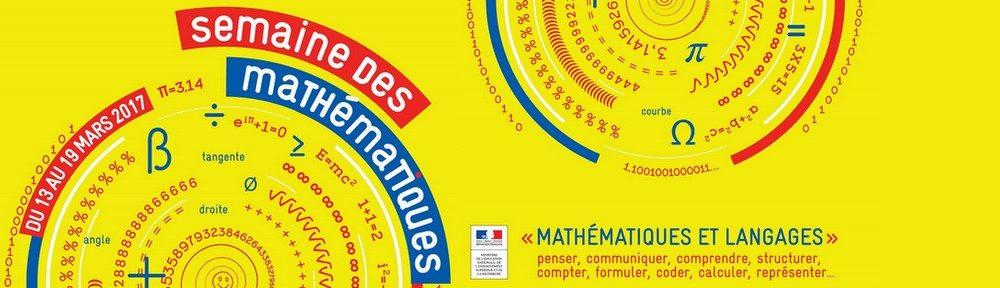 La semaine des mathématiques en Charente-Maritime